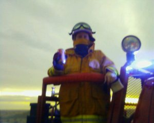 I love fighting grass fire!