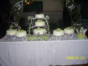 Cake for Paulina's quince