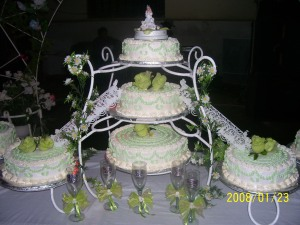 This cake was fabulous.