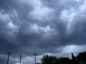 Storm brewing!