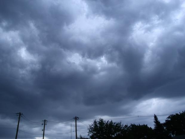 Welcome rain