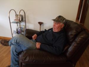 Dad relaxing.....