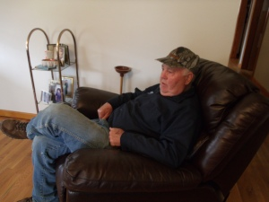 Dad relaxing.....