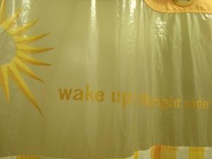 Happy shower curtain advice