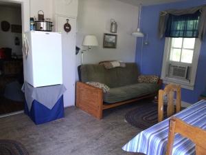 Living room of smaller cabin