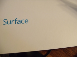 I received this today!  I have to learn to use this Surface 2!  What fun!  :)