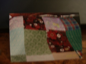 I love old quilts.