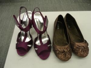 Pretty shoes, happy feet!