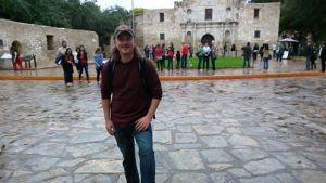 Nick and I made it to the Alamo!