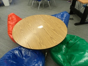 Coolest table in school!
