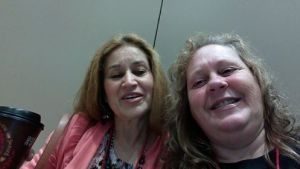New teacher friend, Olinda....