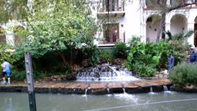 On the River Walk....