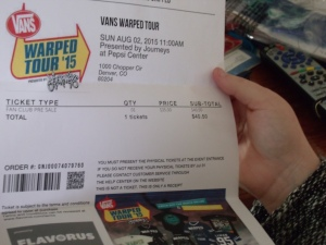 Warped Tour!!!!!