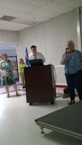 L-R Martha, Kim, John and Bonnie