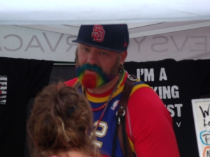 Rainbow Beard is a nice guy.